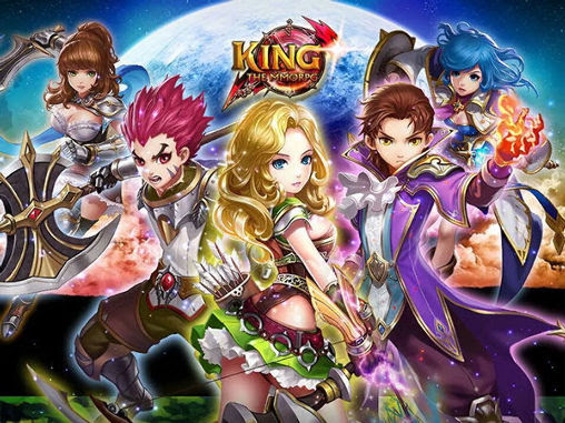 Screenshots of the King: The MMORPG for Android tablet, phone.