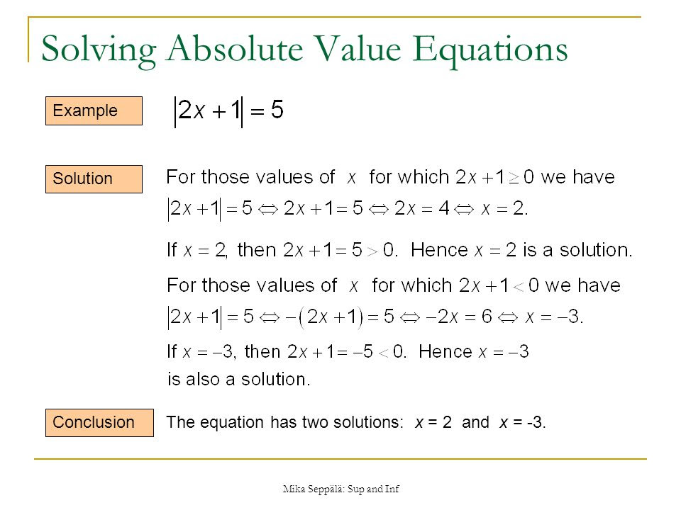 Solving Absolute Value Equations Worksheet 1 4 Proga Info