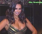Rita Pereira super decote em campanha publicitária