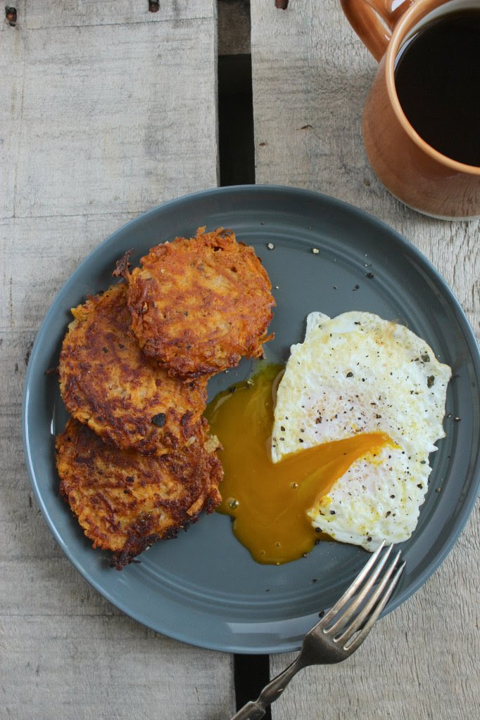Sweet Potato Hashbrowns #sweetpotatorecipes