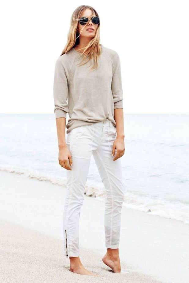 Le Fashion Blog Neutral Summer Style Oatmeal Tan Linen Long Sleeve Tee Knit T Shirt Aviator Sunglasses J.Crew White Ankle Zip Pants photo Le-Fashion-Blog-Neutral-Summer-Style-Tan-Linen-Long-Sleeve-Tee-T-Shirt-Aviator-Sunglasses-J-Crew-White-Ankle-Zip-Pants.jpg