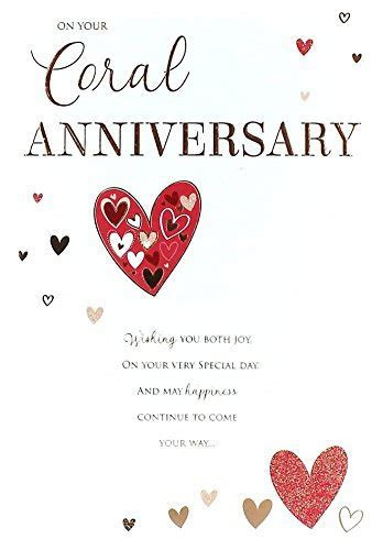 35th Wedding Anniversary Card: Amazon.co.uk: Kitchen & Home