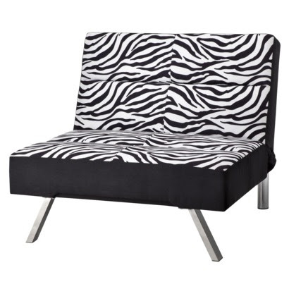 Union Zebra Print Chair | for my zebra room