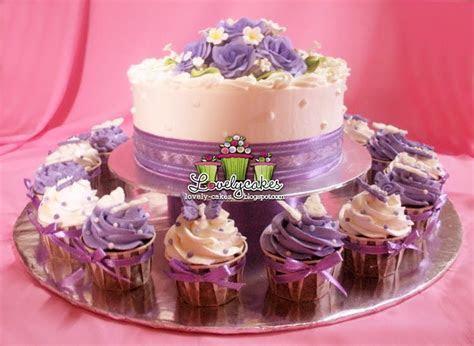 Purple Theme Wedding Cake  ika