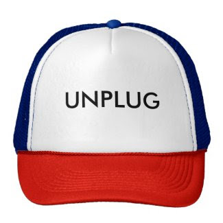 UNPLUG TRUCKER HAT