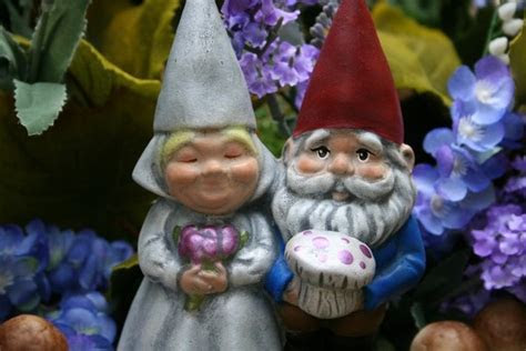 Cake Topper Friday: Gnome Wedding Cake Toppers   A Wedding
