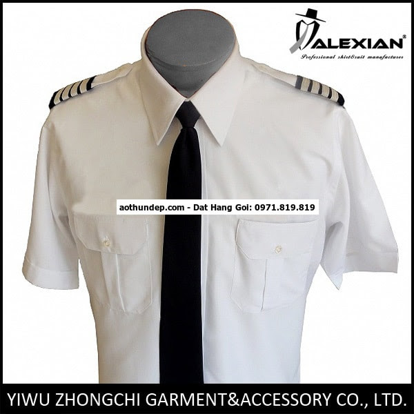 áo sơ mi phi công