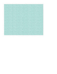 A2 size JPG KNITTING paper turquoise SMALL SCALE