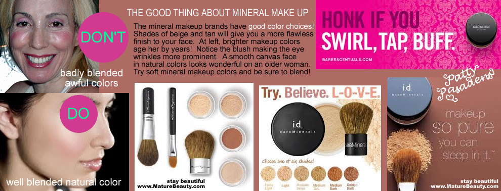 Bare minerals make up natural beauty secrets 4 flawless face