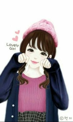 25 Gambar Kartun Korea Cantik Dan Lucu Gambar Kartun Ku
