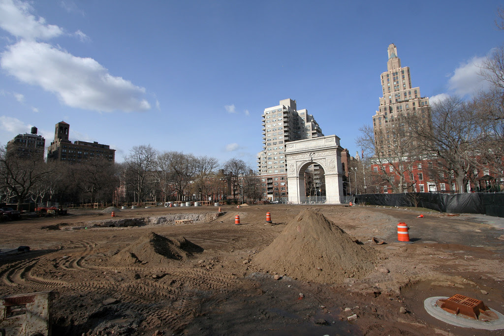Washington Square Park (in progress)