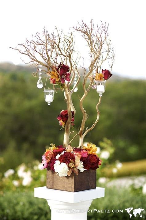 1000  images about DIY Manzanita Centerpieces on Pinterest