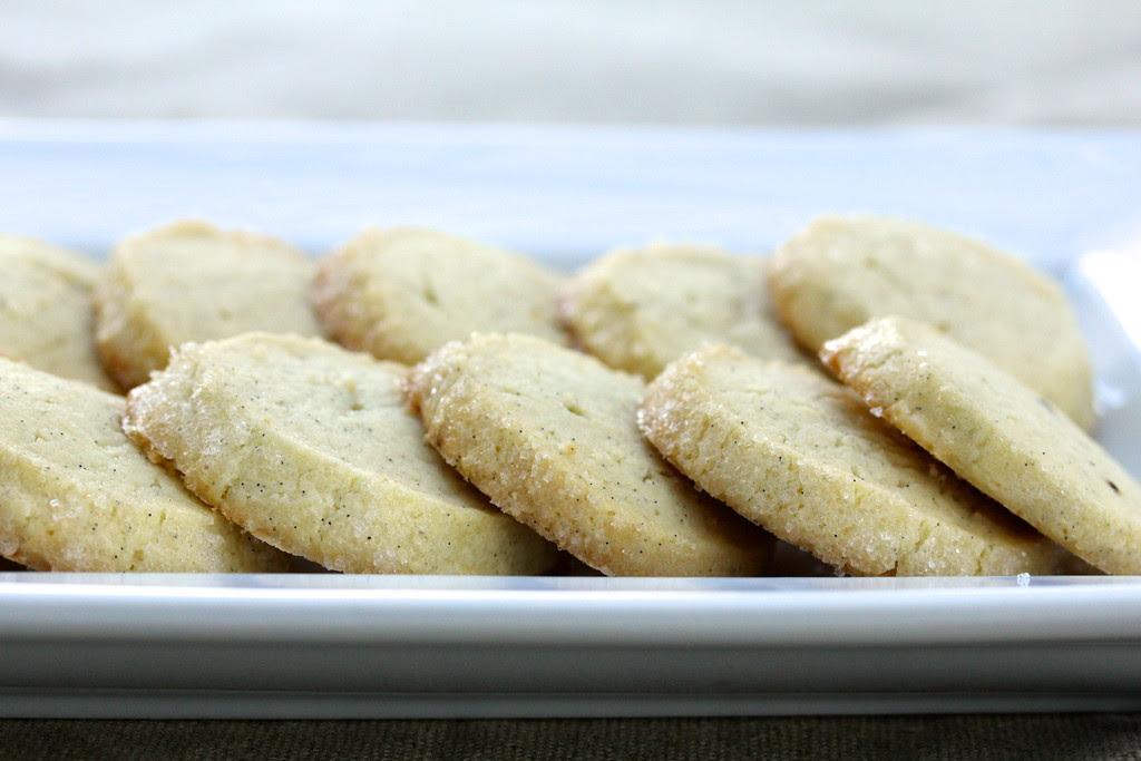 Vanilla Bean Sable Cookies