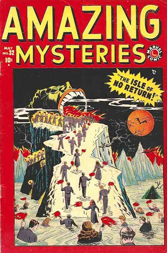 Amazing Mysteries 32 1949