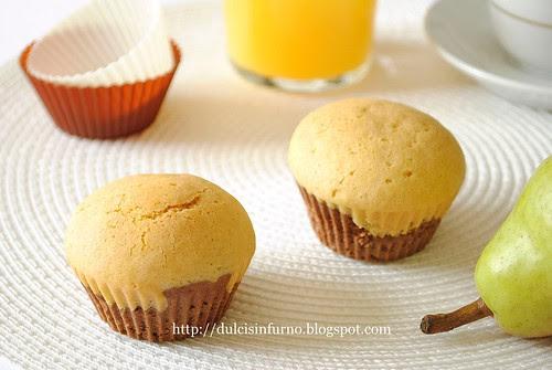 Muffins al Cacao-Cocoa Muffins