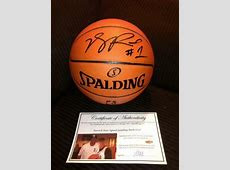 Derrick Rose Signed Basketball   eBay