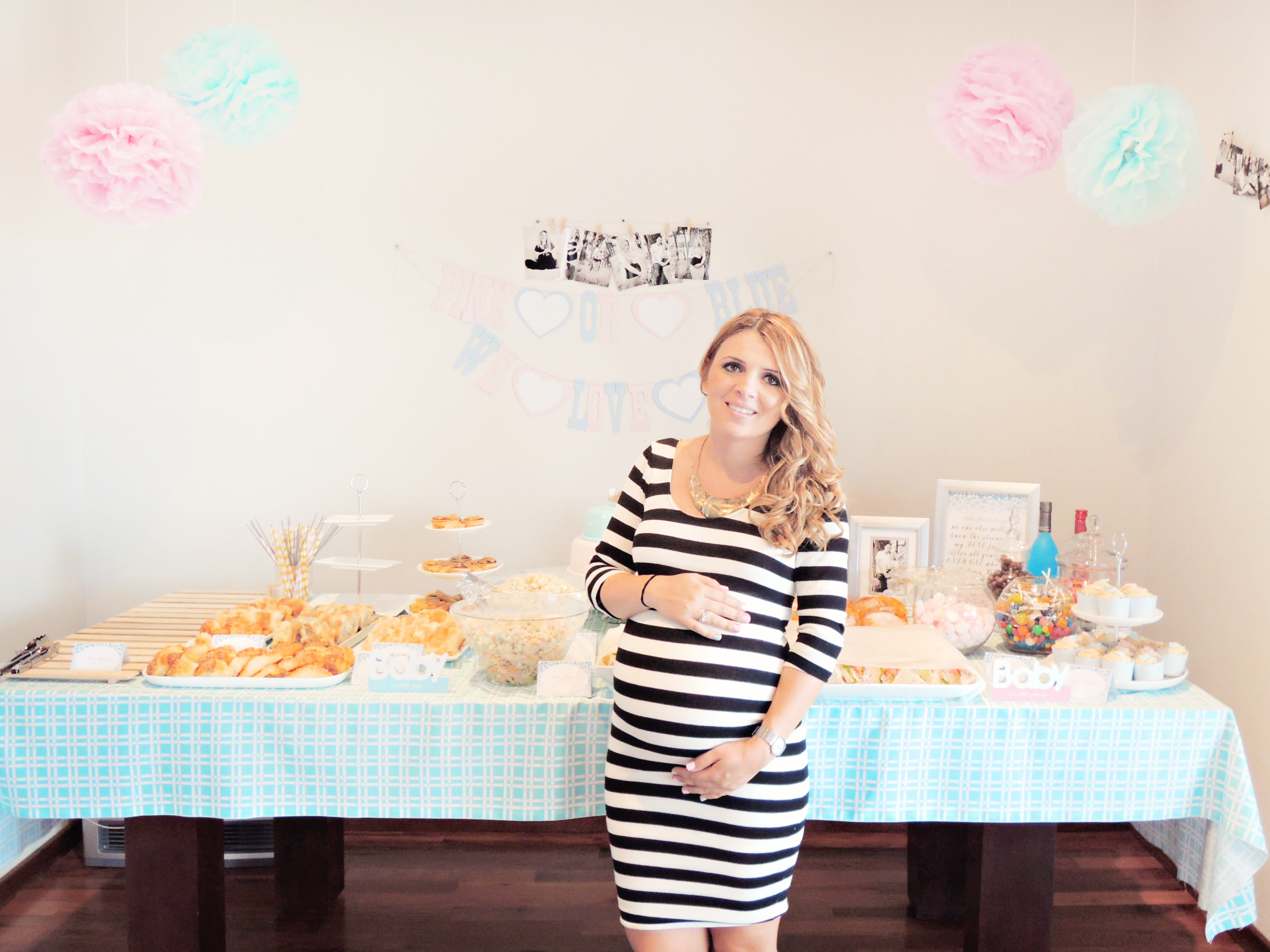 Pink And Blue Baby Shower Baby Interior Design