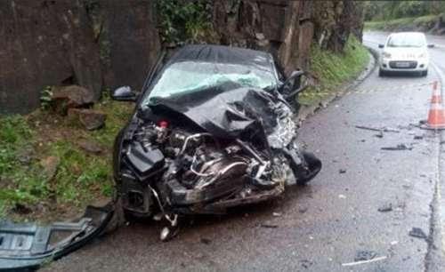 Nova Laranjeiras - Grave acidente na BR-277 tira a vida de pai e filha