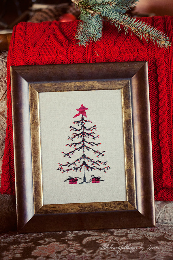 "Christmas Tree (""Stitch by Penny Black"")"