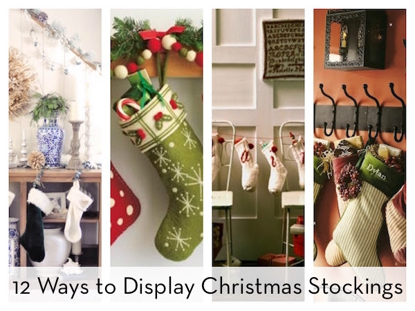 12 Alternative Ways To Display Christmas Stockings No Fireplace