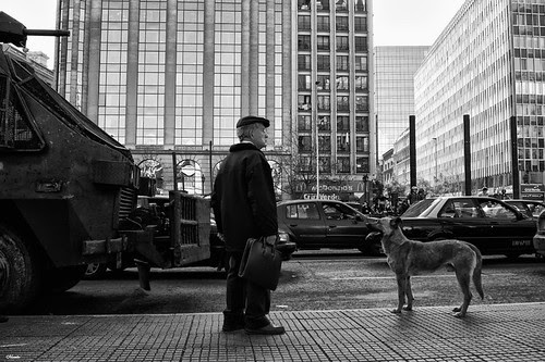 Momentos de una protesta by Alejandro Bonilla