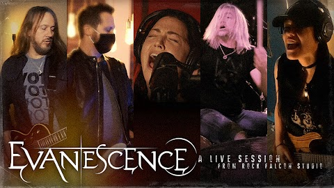 Evanescence presenta: A LIVE SESSION FROM ROCK FALCON STUDIO