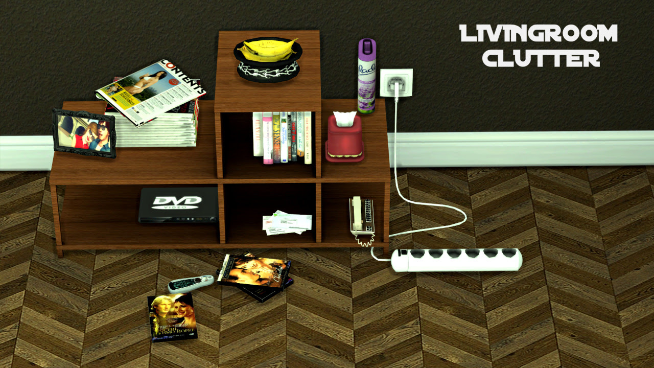 Image Result For Sims  Living Room Clutter