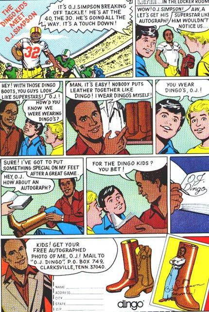 O. J. Simpson Dingo Ad