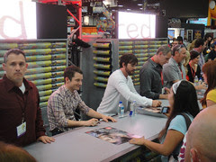 San Diego Comic-Con 2011 - Elijah Wood and Jas...