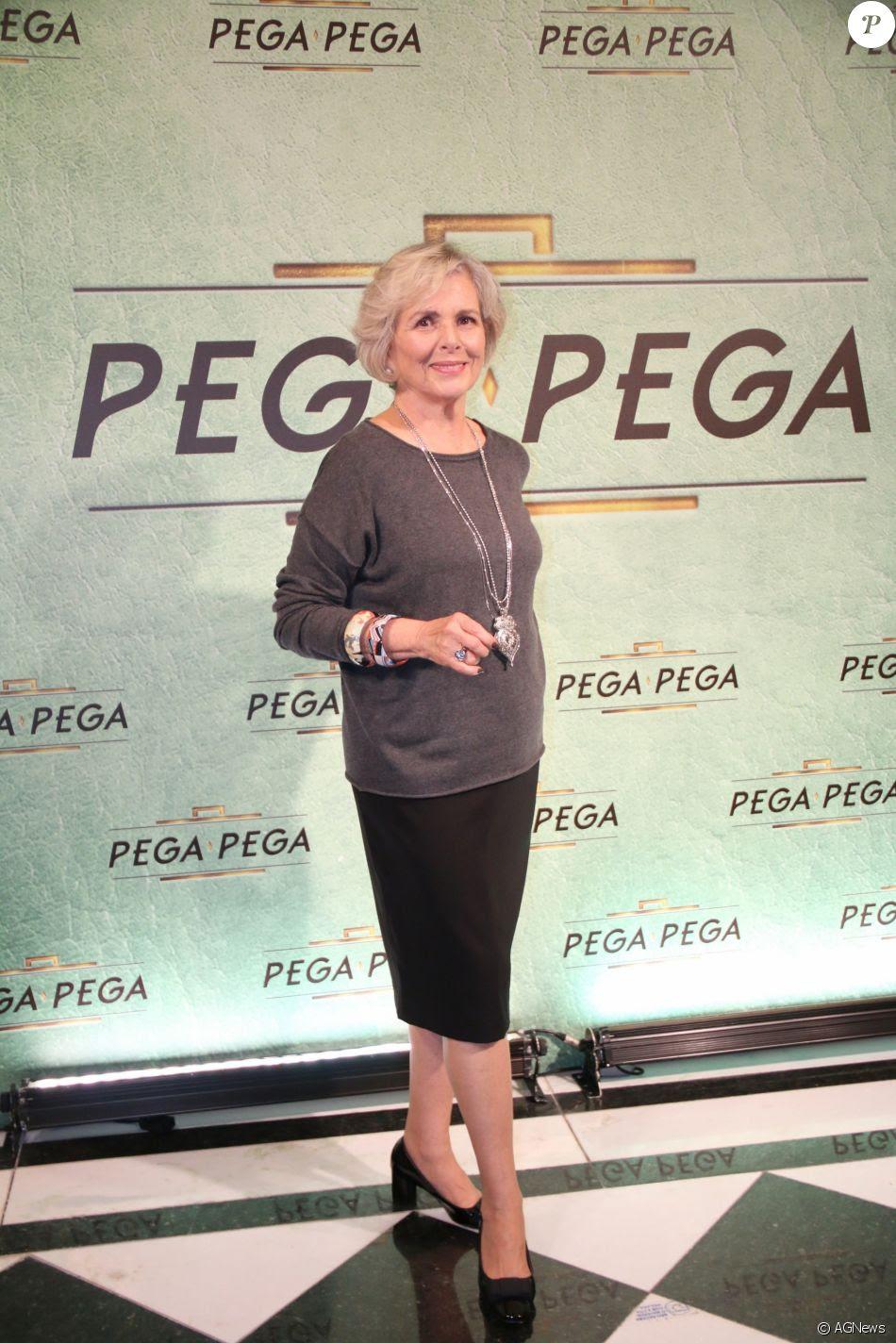 Irene Ravache na festa de lançamento da novela 'Pega Pega', nos Estúdios Globo, no Rio, nesta quinta-feira, 18 de maio de 2017