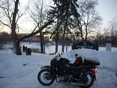 Ural at Langton Lake