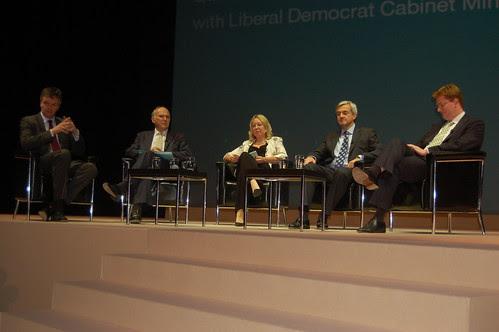 Lib Dem Cabinet Q and A Sept 10