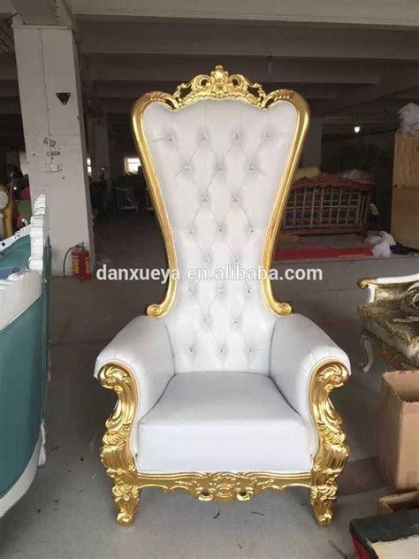 Danxueya  Royal Luxury Wedding Throne Chairs For Sale