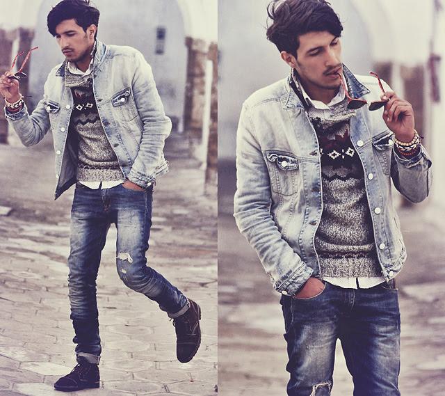 double-denim-men-distressed-jeans-jacket
