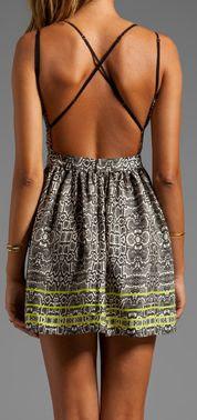 Backless summer dress find more women fashion ideas on www.misspool.com