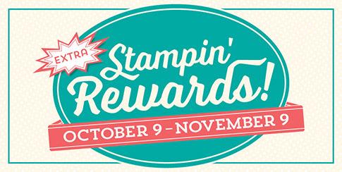 Stampin Up Stampin Rewards Hostess Rewards