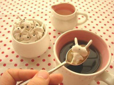 cute food photos - Bunny Sugar Lumps