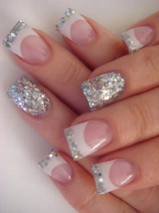 Nail Designs Glitter Tips - Nail Arts
