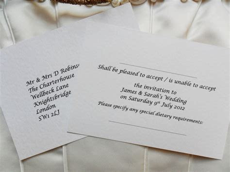 RSVP Postcards for Weddings or other spec (more) R.S.V.P