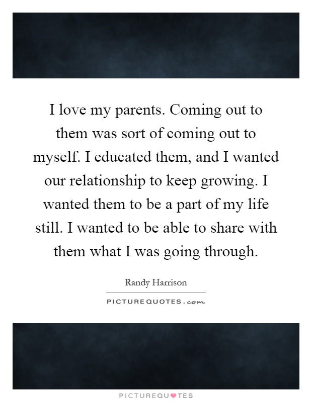I Love My Parents Quotes Sayings I Love My Parents Picture Quotes