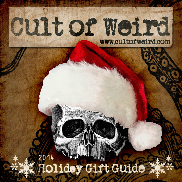 The 2014 Cult of Weird holiday gift guide will help you find the perfect gifts for the weirdos on your Christmas list!