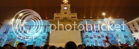 Cortes de acceso a la Puerta del Sol por Nochevieja 2010