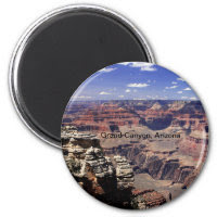 Grand Canyon, Arizona 2 Inch Round Magnet