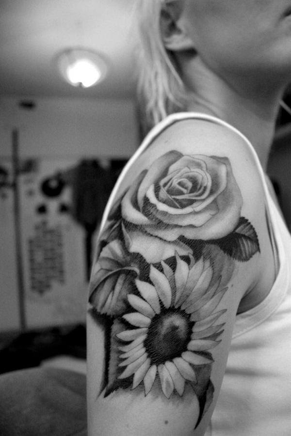 45 Inspirational Sunflower Tattoos Art And Design