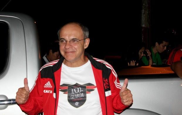 Presidente do Flamengo Eduardo Bandeira de Mello (Foto: Marcos Dantas)