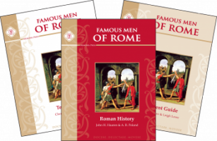 Unexpected Homeschool: Review - Classical History Curriculum - Famous Men of Rome set by Memoria Press