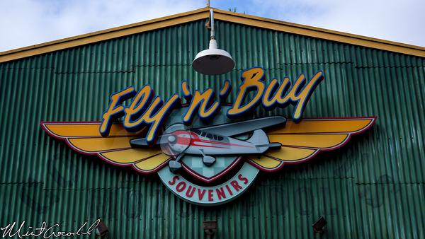 Disneyland Resort, Disney California Adventure, Condor Flats, Fly n Buy