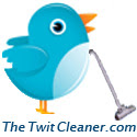 Twit Cleaner, square button