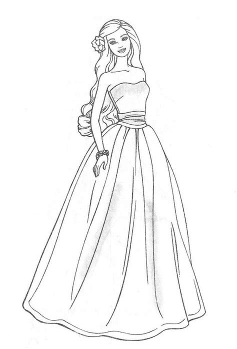 barbie thumbelina coloring pages coloring pages  kids