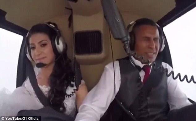 As filmagens do momento em que o helicóptero desceu, lançadas como parte da investigação sobre o acidente, foram compartilhadas on-line pelo canal de notícias, G1 Oficial